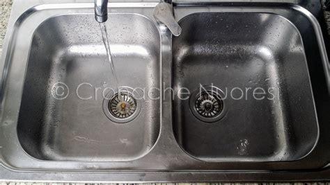 acqua non potabile in alcuni centri della baronia