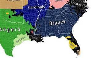 mlb map florida data show mlb teams with most fans in florida