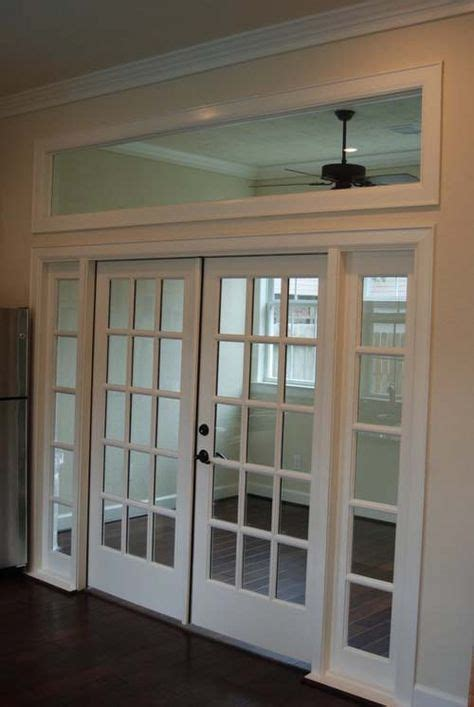 8 Ft Opening With French Doors And Transom Windows Opening For Interior Door