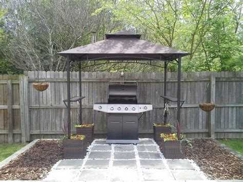 Build Your Own Backyard Grill Gazebo Diy Grill Gazebo Diy Backyard Grill