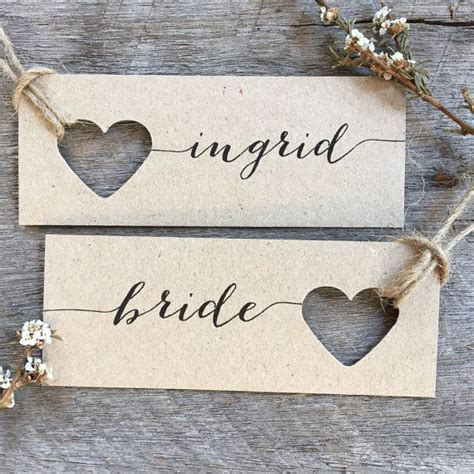 Wedding Name Tags by Wedding Place Cards Name Tags Tags By