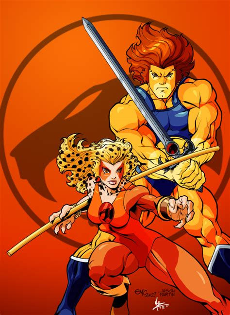 Dc Comics He Thunder Cats 4 March 2017 the thundercats by mohzlee20 on deviantart