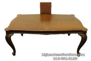 Pulaski Dining Table Pulaski Furniture 86 Chippendale Style Banded Mahogany Dining Table Ebay