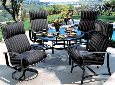 tropitone patio chairs ovation cushion outdoor patio furniture tropitone