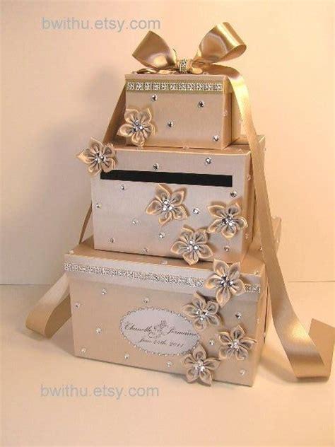 Wedding Present Card Box luxury wedding gift card box diy wedding ideas