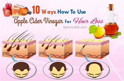 top 10 ways how to use apple cider vinegar for hair loss cure