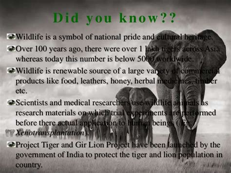 national biography definition wildlife conservation in india ppt