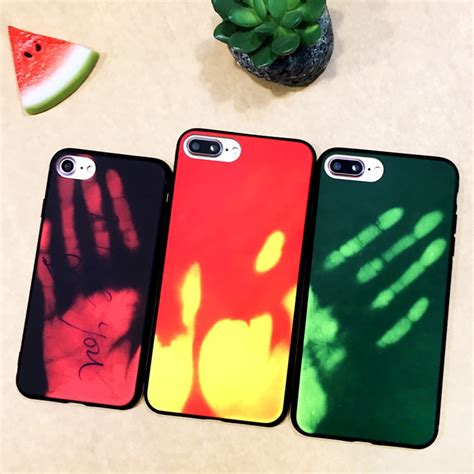 aliexpress buy for iphone 6 6s 7 8 plux x xs max xr temperature sensing color changing