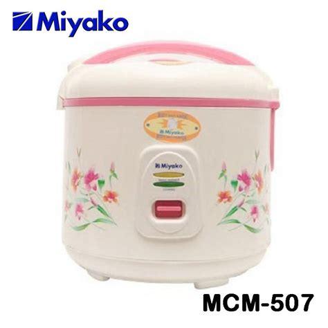 Rice Cooker Miyako Type Mcm 528 buy miyako harga serbaaaa best price magic jar