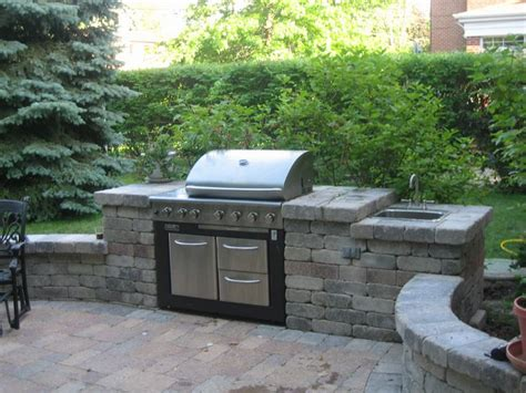 Outdoor Stone Grill Designs Chicago Brick Grill Backyard Grill Chicago
