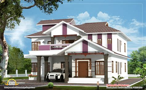duplex building beautiful duplex house 2404 sq ft kerala home design