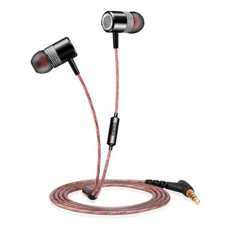 Headset Earphone Iphone Original original fg006 engine shape bass earphones dj headset with microphone for iphone xiaomi mi