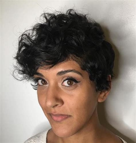 wavy thick hair with a pixie cut 30 standout curly and wavy pixie cuts