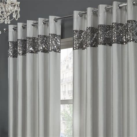 next silver sequin curtains eyelet silver lined curtains tony s textiles tonys