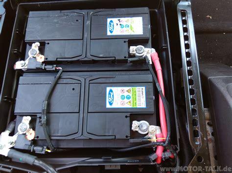 Motorrad Custom Batterie by Batterie Tourneo Custom Tourneo Custom Ausbau Der