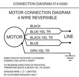 dayton electric motor capacitor wiring diagram dayton