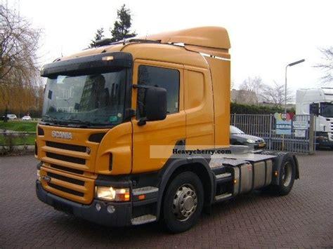 scania p340 4x2 2005 standard tractor trailer unit photo