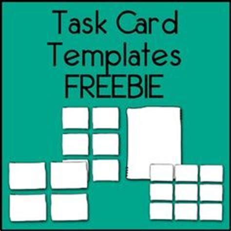 task card template free task card pdf template savable editable all you