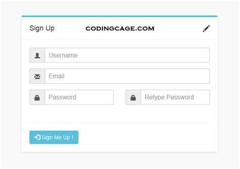 design form bootstrap online designing bootstrap signup form with jquery validation
