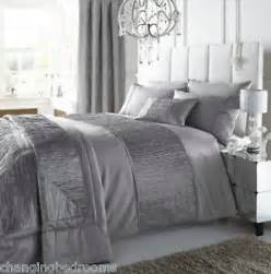 King Size Duvet Covers Silver Silver Sahahra Crinkle Trim In King Or Superking