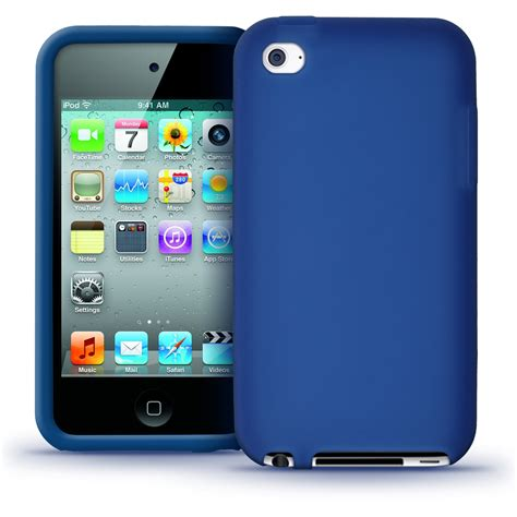 ipod blue blue silicone skin for apple ipod touch 4th 4g 8 32 64gb itouch cover 5060222127904 ebay
