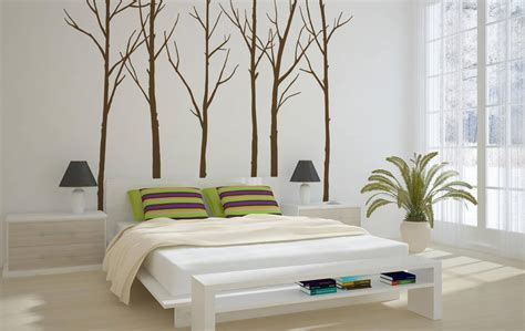 zazous wall stickers winter trees wall sticker by zazous notonthehighstreet