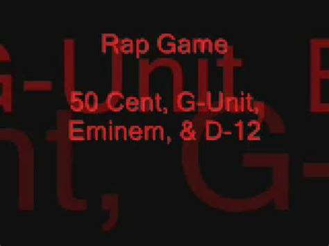 d12 rap game rap game 50 cent eminem d 12 youtube