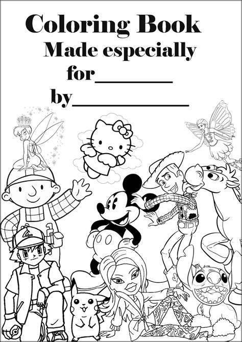 Hello Kitty Coloring Pages Colouring Pages Book