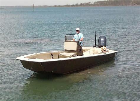 intruder boats 23 intruder handcrafted custom skiffs shallow draft