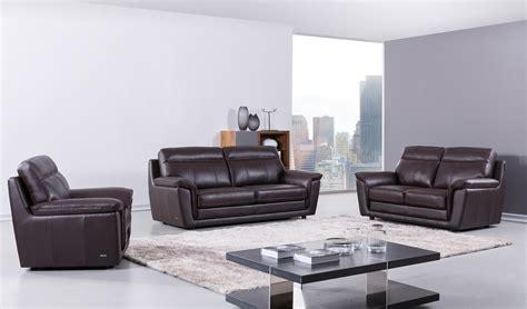 classic italian leather sofa set raleigh
