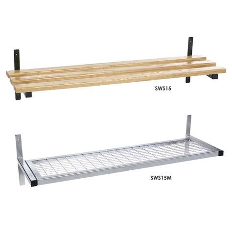 Mesh Shelving Wall Fixed Mesh Or Wood Shelf Ese Direct