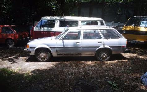 1983 toyota corolla station wagon 1983 toyota corolla wagon automatic 117 999 miles