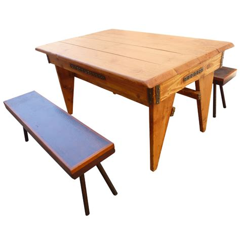 dining table with 2 benches shajan dining table 2 benches chairish