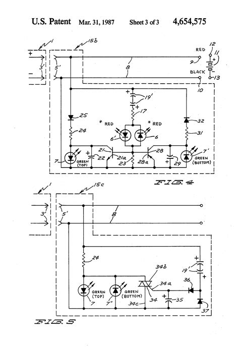 capacitor polarity indicator patent us4654575 ripple detecting polarity indicator for battery charger patenten