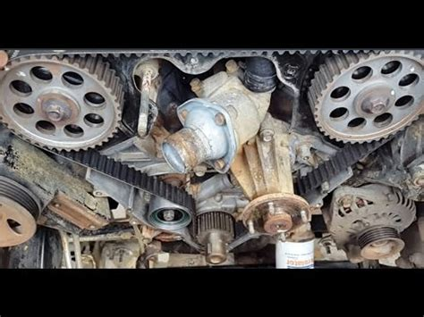 remove a tensioner for a 2000 nissan xterra replacement for engine timing belt tensioner service nissan v6 sohc valvetrain part 1 of 3