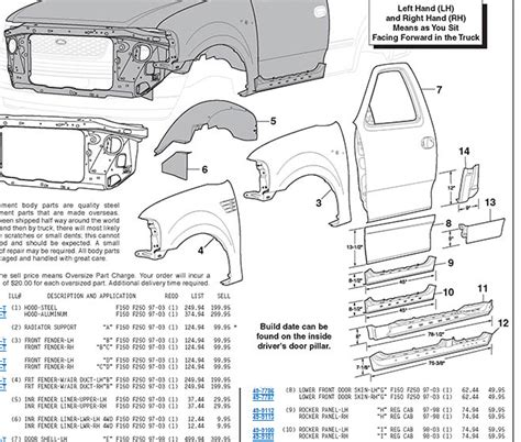2006 ford f150 parts diagram ford parts 2017 ototrends net