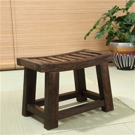 asian stools benches japanese antique wooden stool bench paulownia wood asian traditional furniture ebay