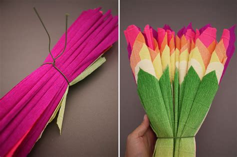 Make Mexican Crepe Paper Flowers - colorful wedding diy project reception decor crepe paper