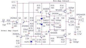 Power Lifier Ocl 300 Watt power lifier ocl tone