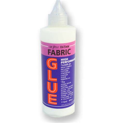 how to glue to fabric hi tack silver glue adhesives craft products