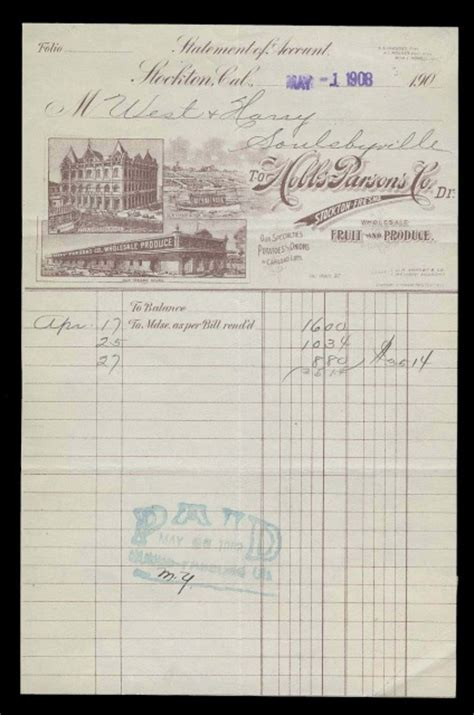 Huntington Bank Letterhead C1900 1950 Original Documents For Sale All Subjects
