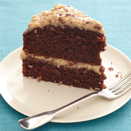 Light German Chocolate Cake Recipe Myrecipes Light Cake Recipe