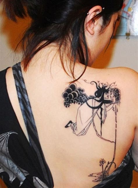 female back tattoo 100 back ideas for with pictures meaning