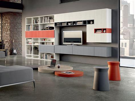 parete componibile soggiorno parete soggiorno componibile arredamento mobili