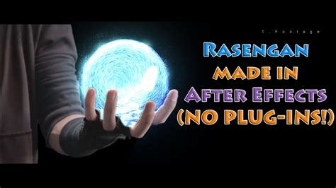tutorial after effects rasengan how to create a rasengan in after effects no plug ins