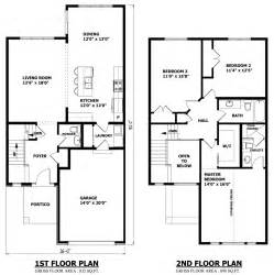 Small Two Floor House Plans by Canadian Home Designs Custom House Plans Stock House