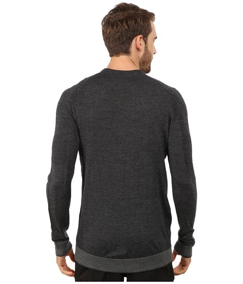 Sweater Amerika 23 Black lyst nike engineered knit 3d sweater in black for