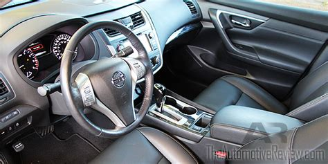 Nissan Altima Black Interior by 2016 Nissan Altima Review The Automotive Review