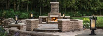 outdoor patio fireplace kits outdoor fireplaces kits ovens kitchens belgard elements