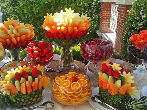 best 25 fruit buffet ideas on fruit tables